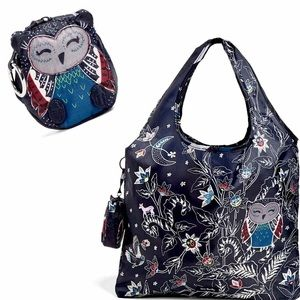 🆕Vera Bradley Owl Collapsible Tote